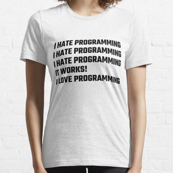 I Love Programming Essential T-Shirt