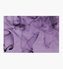 Smoldering Smoke Muted Pastel 003 Photographic Print