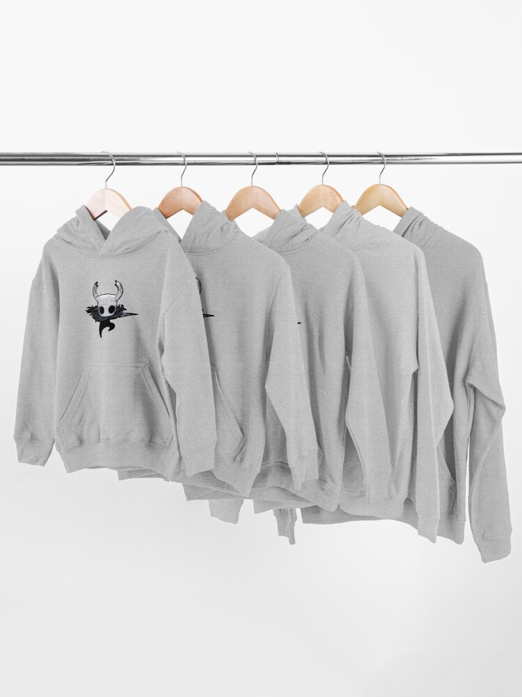 Alternate view of Hollow Knight Mixed Media Kids Pullover Hoodie