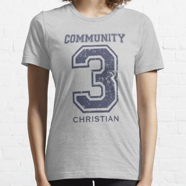 COMMINITY CHRISTIAN 3 Essential T-Shirt