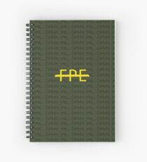 The Few, The Proud, The Emotional Spiral Notebook