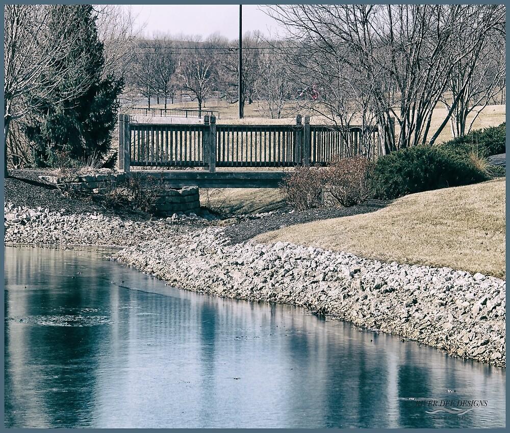 Village Bridge by RiverDeeDesigns
