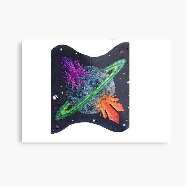 Planet G1 Metal Print