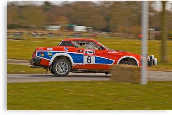 Triumph TR7 V8 by Willie Jackson