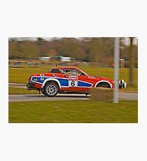 Triumph TR7 V8 Photographic Print