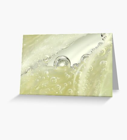 Fizzy Gold Greeting Card