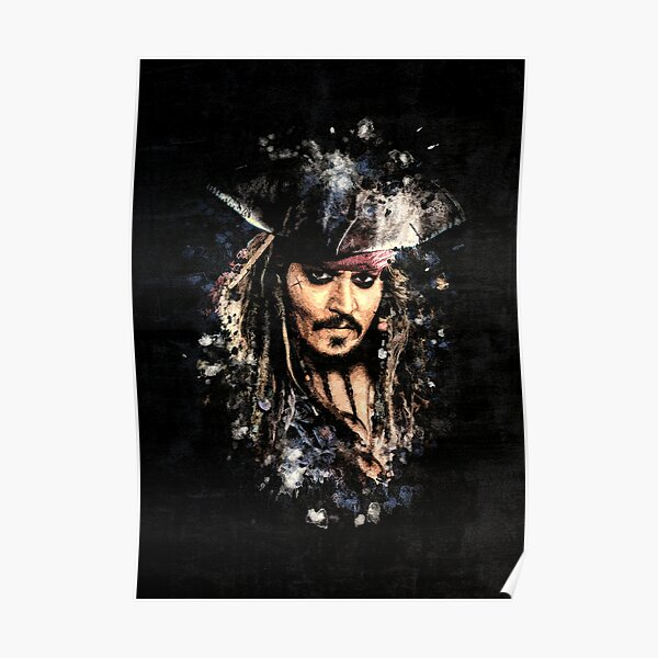 Capitaine Jack Sparrow Poster