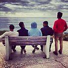 Friends in La Jolla by omhafez