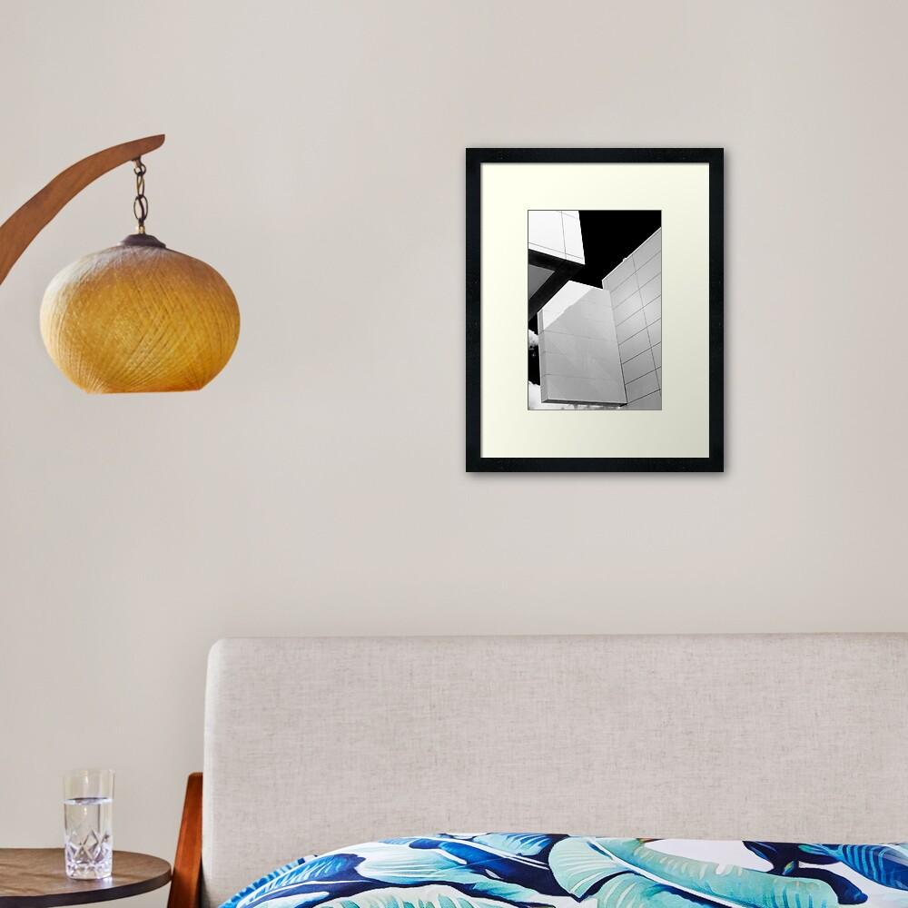 Architecture design Framed Art Print