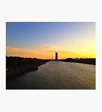 Sunset in Sevilla Photographic Print