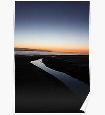 Sunrise at Papamoa NZ Poster