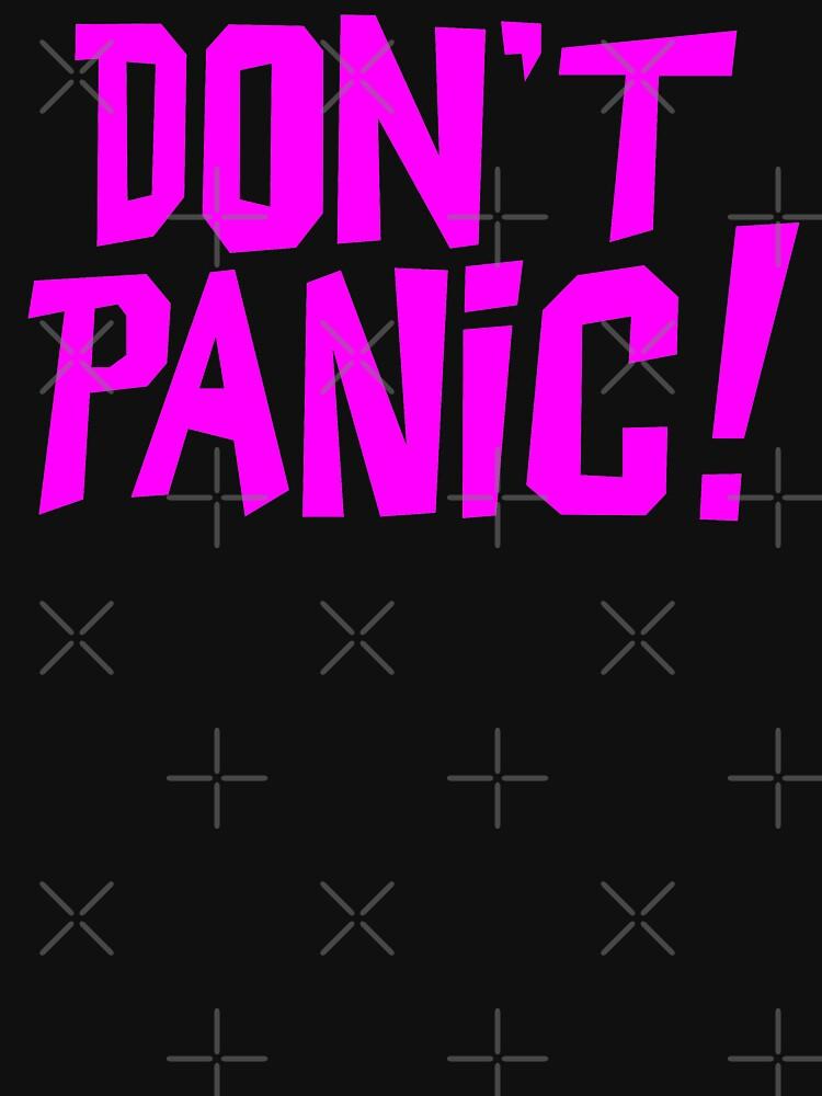 NDVH Don't Panic - Magenta 1 H2G2 by nikhorne