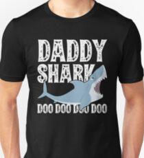 Vintage Daddy Shark T-Shirt Slim Fit T-Shirt