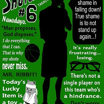 Midorima Shintarou Quotes by esperjester