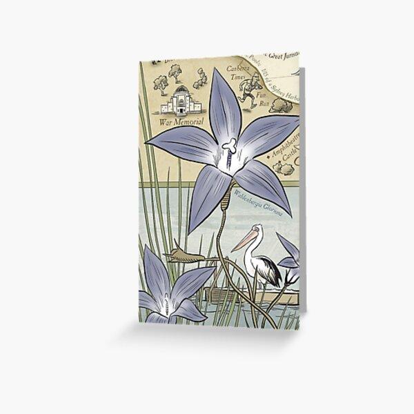 Lake 50 Wahlenbergia Greeting Card