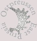 Moose antler symbol of East Prussia by edsimoneit