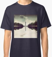 Washington Monument Reflections Classic T-Shirt