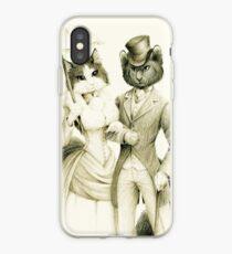Victorian Cat Series 01 iPhone Case