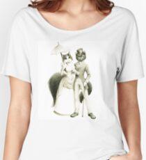 Victorian Cat Series 01 Women's Relaxed Fit T-Shirt