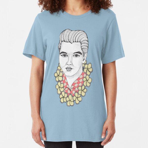 Blue Hawaii Slim Fit T-Shirt