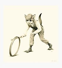 Victorian Cat Series 02 Photographic Print