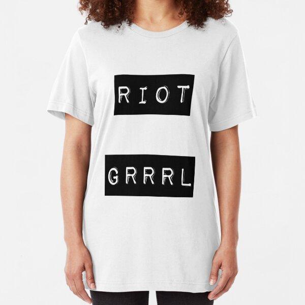 riot grrrl Slim Fit T-Shirt