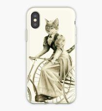 Victorian Cat Series 03 iPhone Case