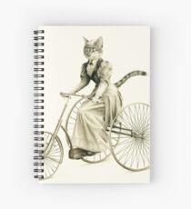 Victorian Cat Series 03 Spiral Notebook