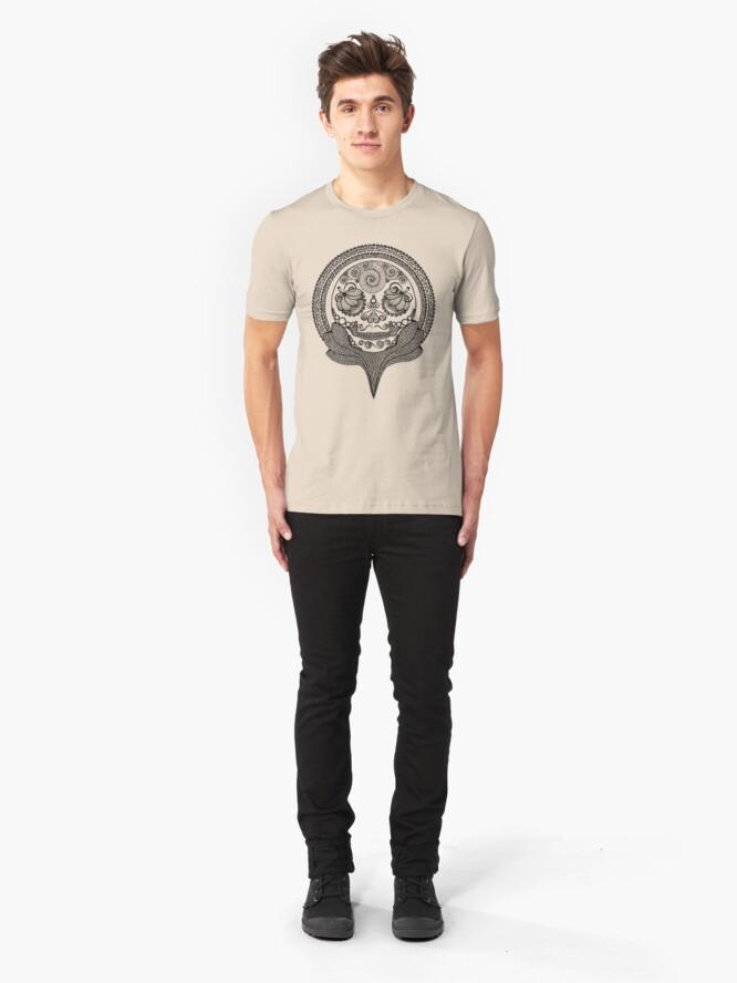 Alternate view of Trophy Skull Slim Fit T-Shirt