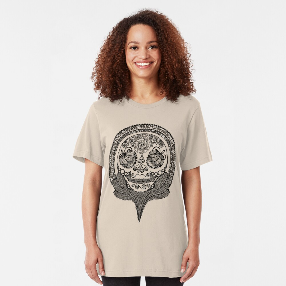 Trophy Skull Slim Fit T-Shirt