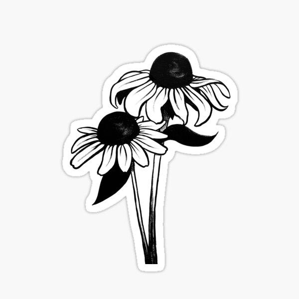 Black Eyed Susans Sticker