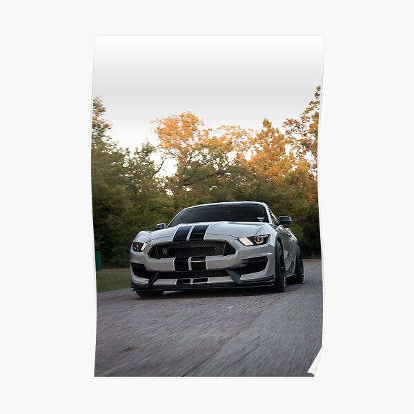 Ford Mustang GT350 Poster