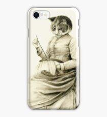 Victorian Cat Series 05 iPhone Case/Skin
