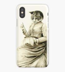 Victorian Cat Series 05 iPhone Case