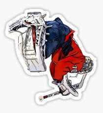Braden Holtby Sticker