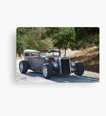 1928 Chevrolet 'Backwoods Rat' Sedan Canvas Print
