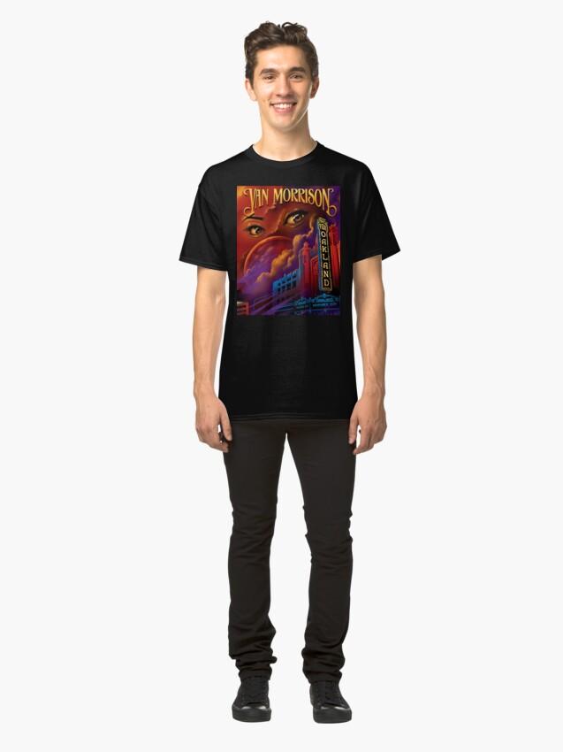 Vista alternativa de Camiseta clásica Furgoneta de edición limitada impresa Morrison cartel
