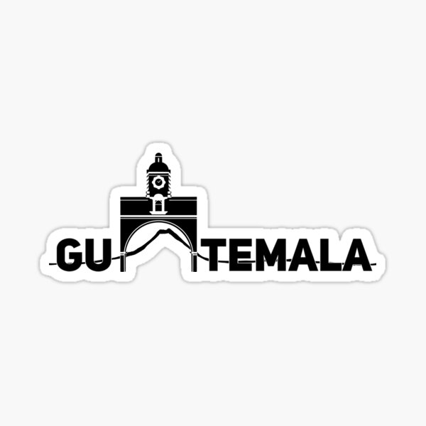 Guatemala Pegatina