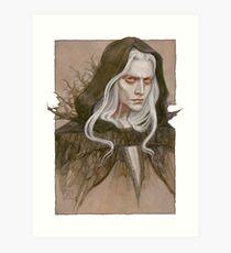 The Albino Antihero Art Print
