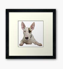 Bull Terrier Framed Print