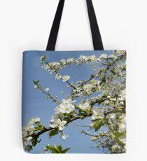 plum tree blossoms Tote Bag