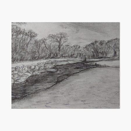 Booderee Tidal Creek Art Board Print