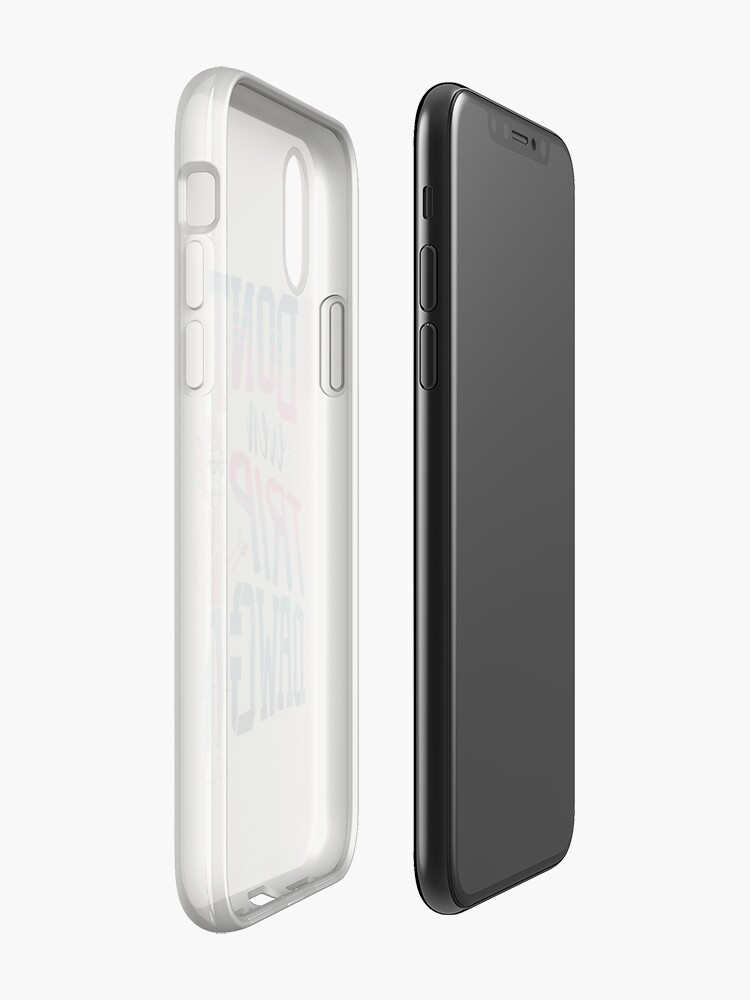 Vista alternativa de Funda y vinilo para iPhone Ni siquiera viaje, Dawg