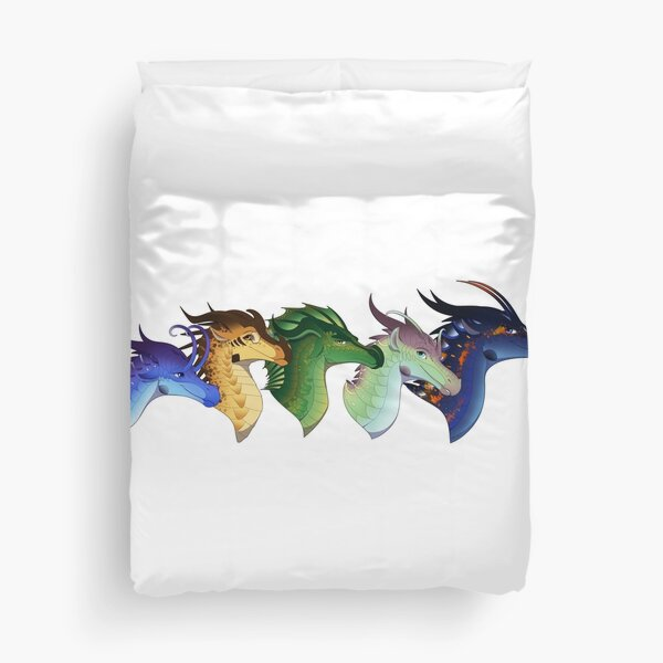 Wings of Fire - Lost Continent  Duvet Cover