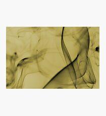Smoldering Smoke Muted Pastel 006 Photographic Print