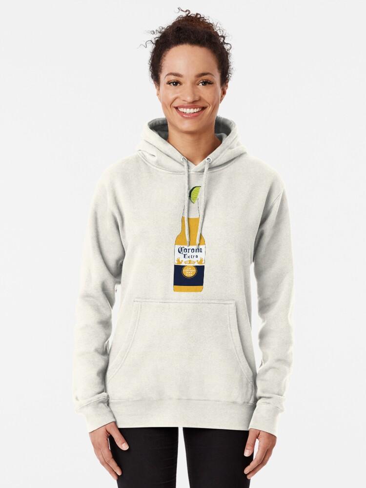 Corona Beer Champion Gray Pullover Hoodie Sweatshirt Size XL Brand NEW L@@K