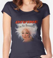 divine im so beautiful john waters Women's Fitted Scoop T-Shirt