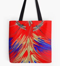 Lovely wee dragonfly life kin be a rub Tote Bag