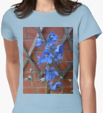 Delphinium Delight Womens Fitted T-Shirt