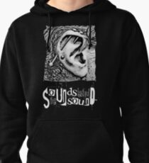 The Sounds Unsound Festival - White Pullover Hoodie